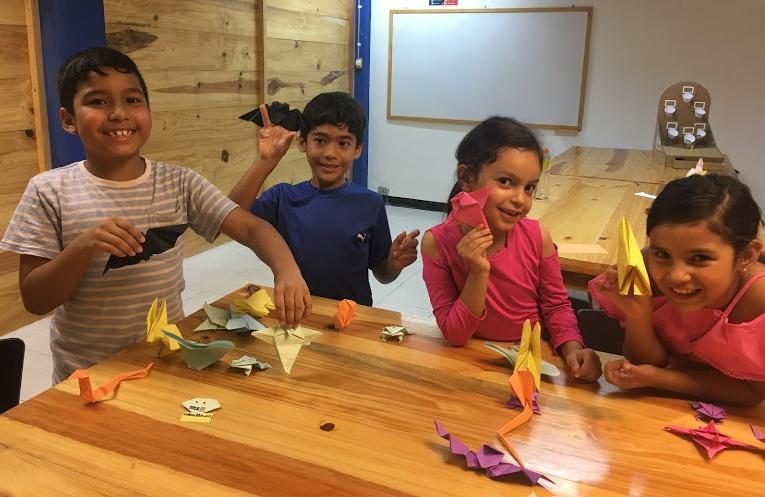 Taller origami para niños